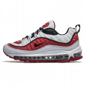 OFF-WHITE VIRGIL ABLOH X NIKE AIR MAX 98 WHITE/RED WMNS MENS SIZE SHOES FOR SALE AJ6302-113