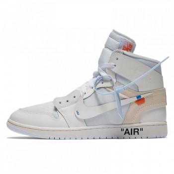 "OFF-WHITE X AIR JORDAN 1 ""WHITE"" AQ0818-100 RELEASE DATE"