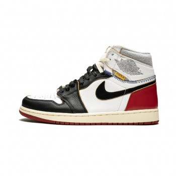 Union x Air Jordan 1 Retro Black Toe On Feet OG NRG BV1300-106