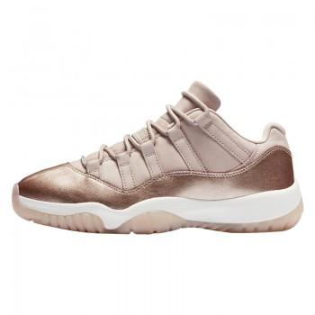"""Air Jordan 11 Low """"Metallic Red Bronze / Rose Gold"""" Price Release Date AH7860-105"""