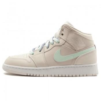 "Air Jordan 1 Mid GG Colorful ""Phantom"" Womens Shoe Size 555112-035"