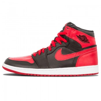 "Air Jordan 1 Retro High Ban ""Banned"" Black/Red/White 432001-001 Shoes"