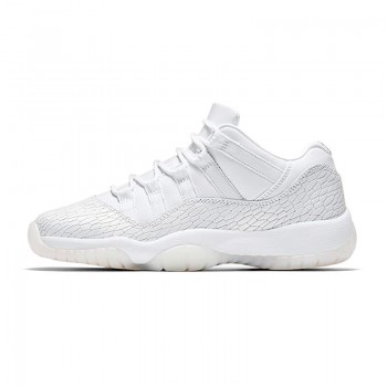 "Air Jordan 11 Low GS ""Heiress White"" 897331-100"