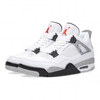 "Air Jordan 4 IV Retro OG ""White Cement"" 840606-192 AJ4 For Sale"