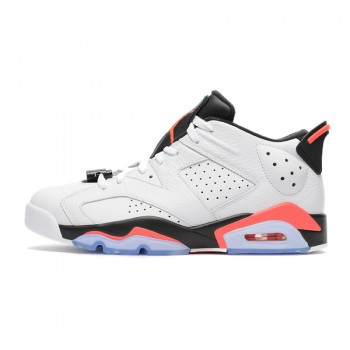 "Air Jordan 6 Retro Low ""White Infrared"" 304401-123"