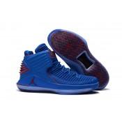 """Air Jordan 32 XXXII """"Russ"""" / Blue / Red"""