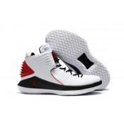 Air Jordan 32 XXXII White/Black/Red