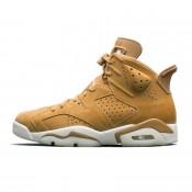 Air Jordan 6 Golden Harvest Wheat 384664-705