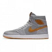 "AIR JORDON1 FLYKNIT ""GREY/ORANGE"" 919704-025"
