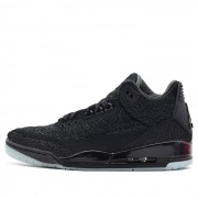 AIR JORDAN 3 RETRO FLYKIT BLACK GLOW ON FEET FOR SALE AQ1005-001