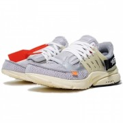 "OFF-WHITE X NIKE AIR PRESTO ""GREY"" AA3830-002"