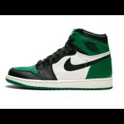 """Pine Green"" New Air Jordan 1 High OG Mens GS Shoes 555088-302 Release Date"
