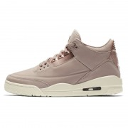 "Air Jordan 3 ""Particle Beige"" SE Rose Gold Womens GS Size AH7859-205"