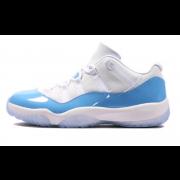 "Air Jordan 11 Low ""UNC / Columbia"" Blue/White 528895-106"