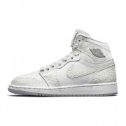 "AIR JORDAN 1 RETRO HIGH GS ""PEARL WHITE"" 832596-100"