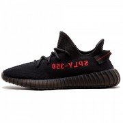 """ADIDAS ORIGINALS YEEZY BOOST 350 V2 """"CORE BLACK/RED"""" BRED CP9652"""