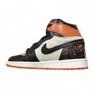 "AIR JORDAN 1 ""SHATTERED BACKBOARD"" CARTOON 555088-005"