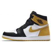 """Air Jordan 1 """"Yellow Ochre"""" Five MVP Awards AJ1 555088-109"""
