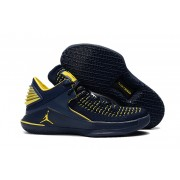 Air Jordan 32 XXXII Low Deep Blue/Yellow
