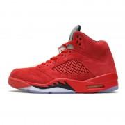 Air Jordan 5 Red Suede 136027-602