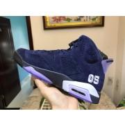 Air Jordan 6 Blue Suede 384664-112