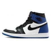 "Black and Blue Jordan 1 ""Fragment"" 716371-040 Retro 1s"