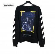 OFF WHITE Caravaggio Crewneck Sweatshirt 17FW