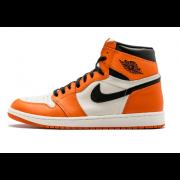 """Air Jordan 1 Orange Retro High OG """"Shattered Backboard Away"""" 555088-113"""