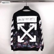 OFF WHITE Galaxy Crewneck Sweatshirt 17FW