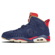 "Air Jordan 6 Retro DB ""Doernbecher"" Navy Blue And Red 392789-401"
