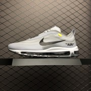 OFF WHITE NIKE SHOES NIKE AIR MAX 97 GREY AJ4585-002
