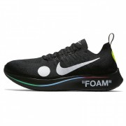 "OFF-WHITE X NIKE ZOOM FLY FLYKNIT OW ""MERCURIAL BLACK"" AO2115-001"