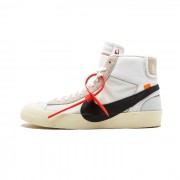 OFF-WHITE OW X THE 10 NIKE BLAZER MID WHITE/BLACK AA3832-100