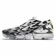 NIKE AIR VAPORMAK FK MOC 2 ACRONYM LIGHT BONE/VOLT GREEN AQ0996-001-35