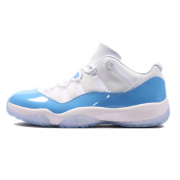 "Air Jordan 11 Low ""UNC / Columbia"" Blue/White 528895-106"