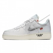 "OFF WHITE X NIKE AIR FORCE 1 LOW ""COMPLEXCON"" 07 AO4297-100"