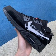 OFF-WHITE X NIKE AIR MAX 90 V2 OW BLACK AA7293-001