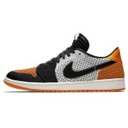 "Air Jordan 1 Low Flyknit ""Shattered Backboard"" Black/White/Orange AH4506-100"