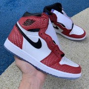 "AIR JORDAN 1 ""ORIGIN STORY"" SPIDERMAN MENS 555088-602 GS 575441-602"