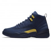 "Air Jordan 12 ""Michigan"" Release Date BQ3180-407"
