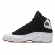 Air Jordan 13 City of Flight GS Size Gum Black/Gold/White Sale For Girls 439358-021