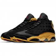 "Air Jordan 13 Melo ""Class of 2002"" Black and Yellow/Gold 414571-035"