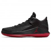 "Air Jordan 32 Low ""Last Shot"" Red And Black Jordans Shoes AH3347-003"