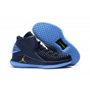 Air Jordan 32 XXXII Deep Blue/Grey/Yellow