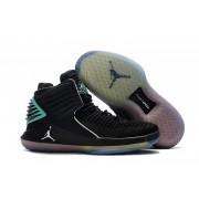 Air Jordan 32 XXXII Black/Jade/Lightblue