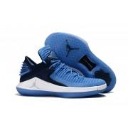 Air Jordan 32 XXXII Low Moon Blue/Black/White