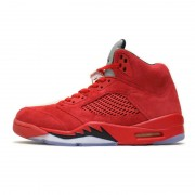 Air Jordan 5 Red Suede 136027-602