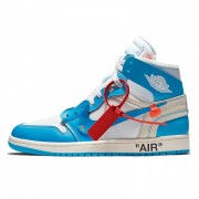 "OFF-WHITE X AIR JORDAN 1 ""UNC"" OW RELEASE FOR SALE AQ0818-148"