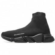BALENCIAGA SHOES LIKE SOCKS TOP ORIGINALS SPEED RUNNERS ALL BLACK 483502W05G0
