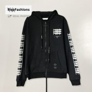 Off White Reflective Industrial Hoodie